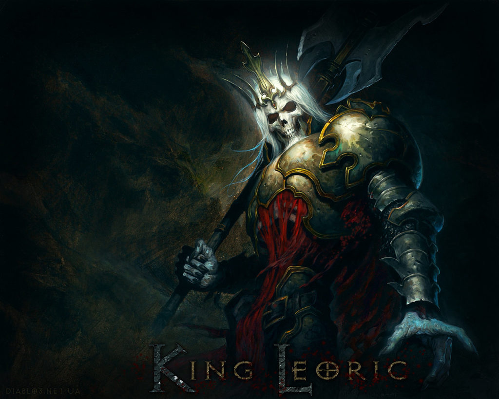 Rei Leoric - o verdadeiro Skeleton King de Diablo